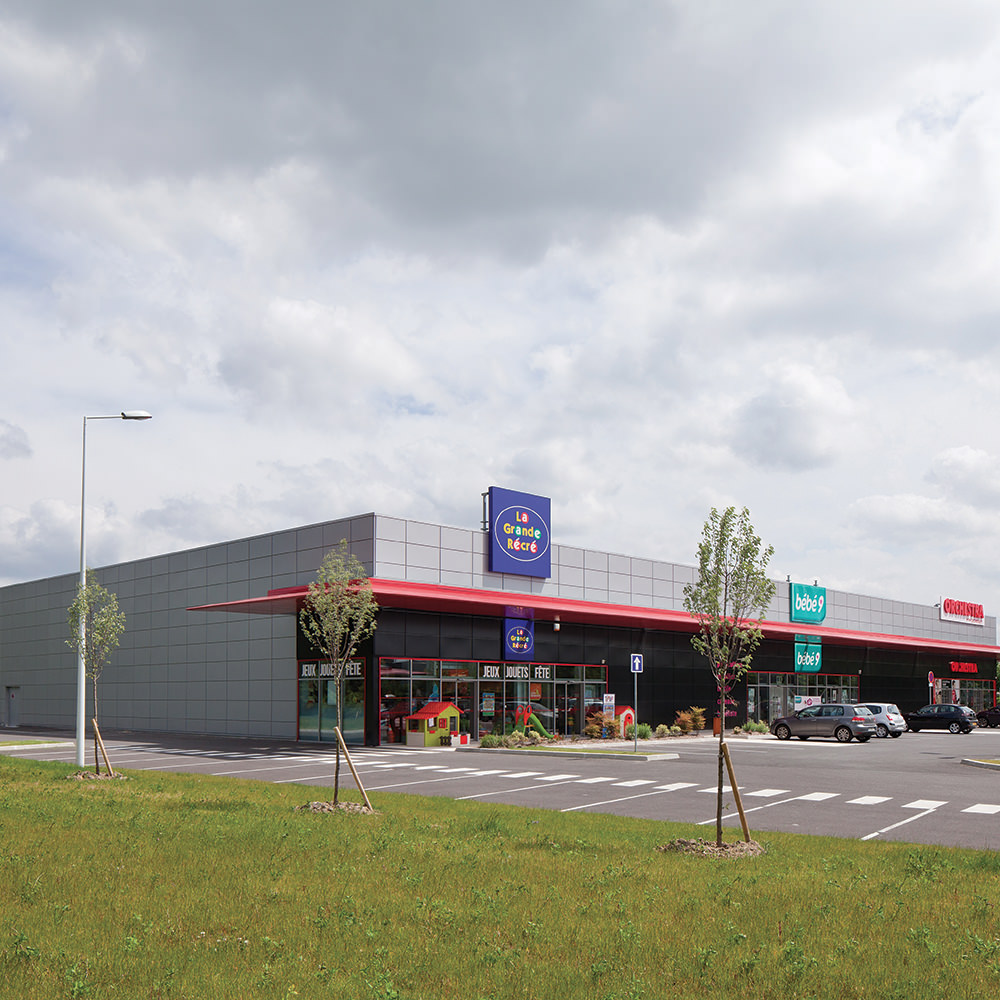 Centre commercial carrefour berck ema invest the retail specialist - Centre commercial biganos ...